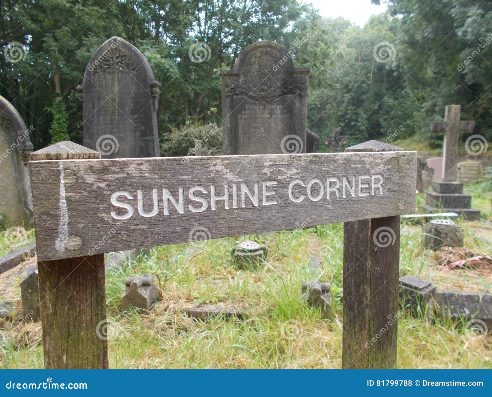 Σημάδι γωνιών ηλιοφάνειας