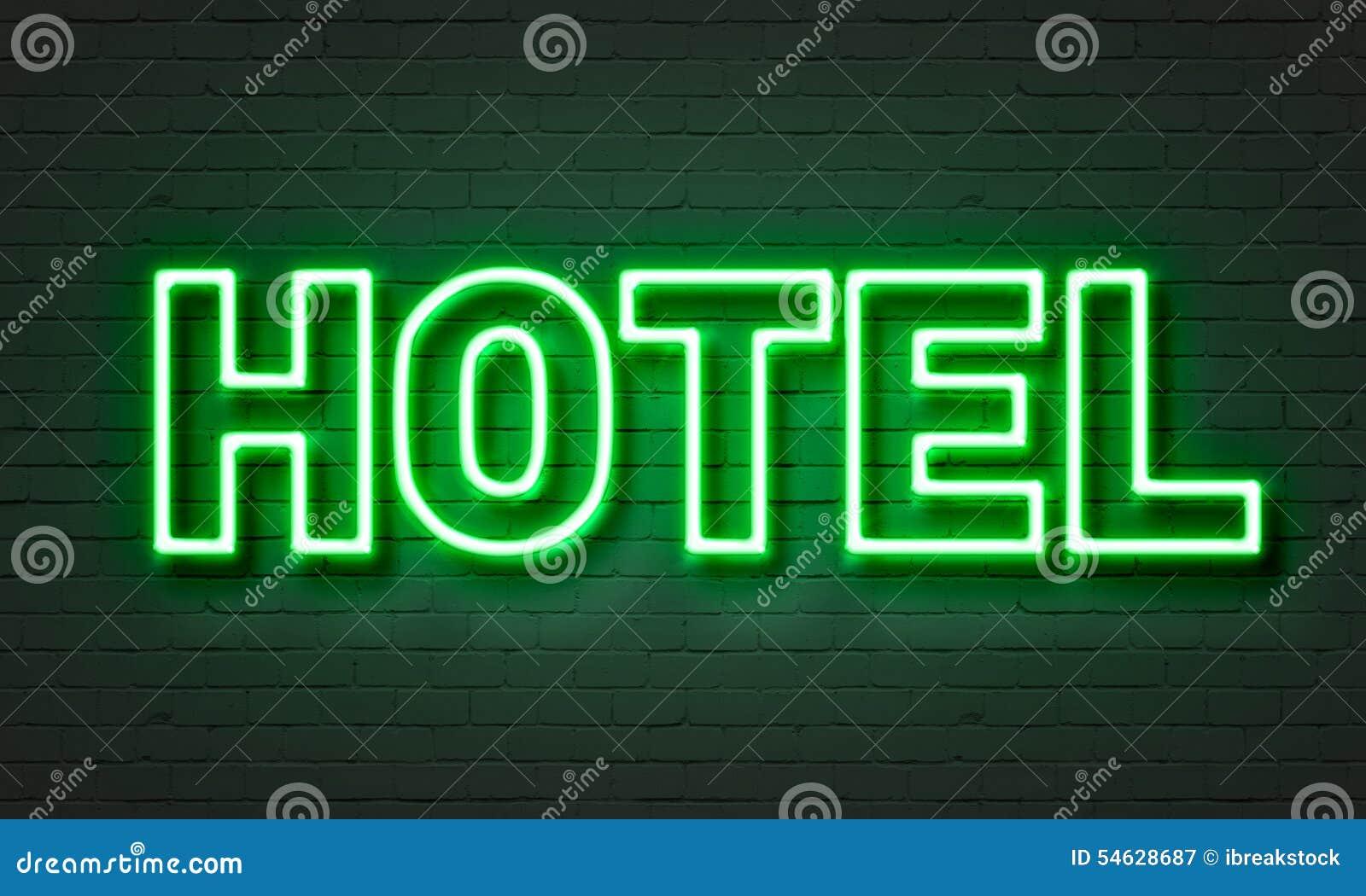 Σημάδι νέου ξενοδοχείων