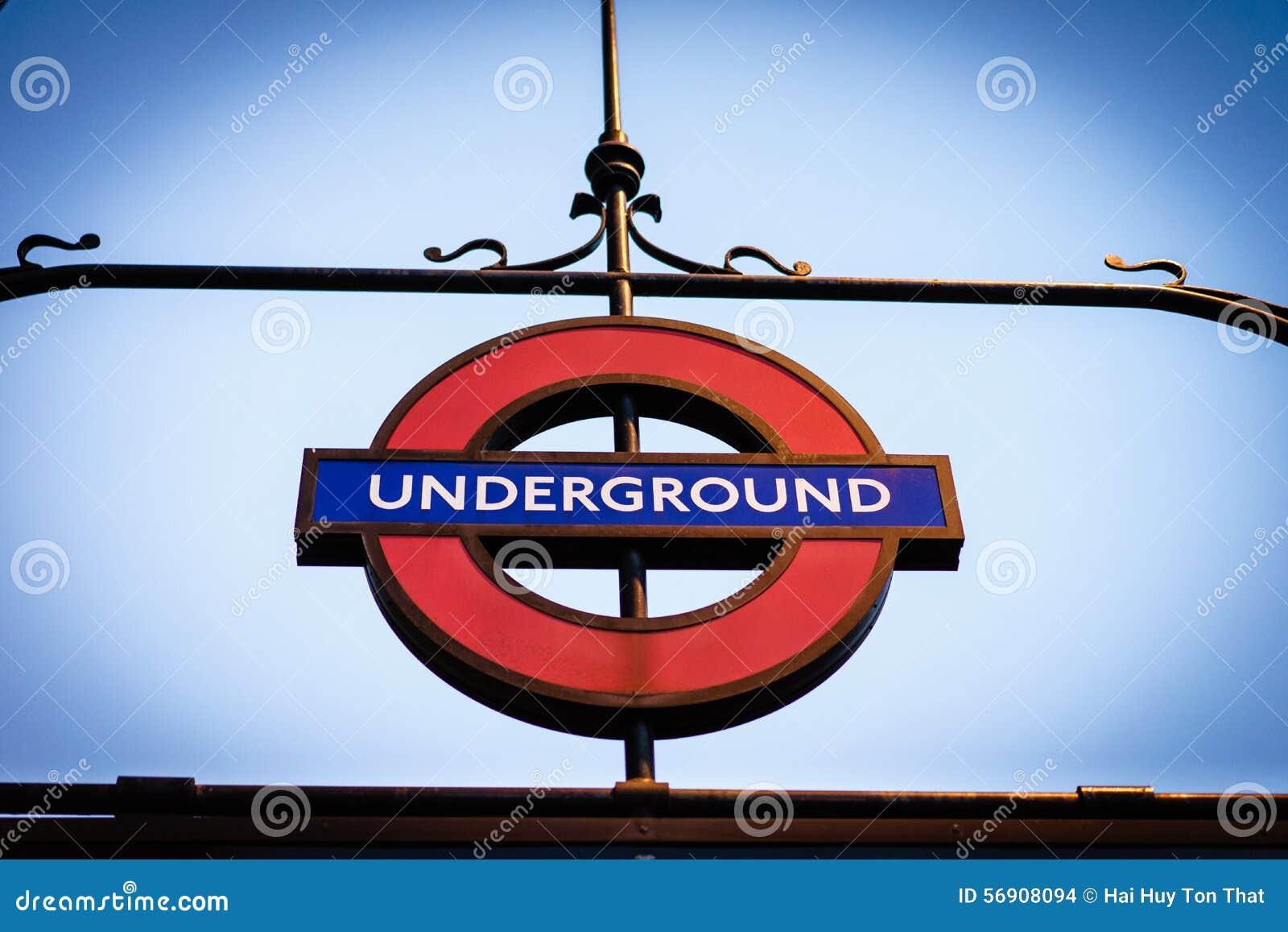 Σημάδι σωλήνων Μετρό του Λονδίνου