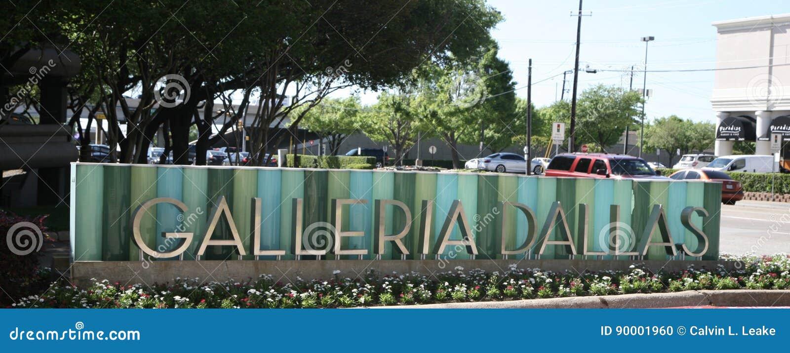Σημάδι του Ντάλλας Galleria