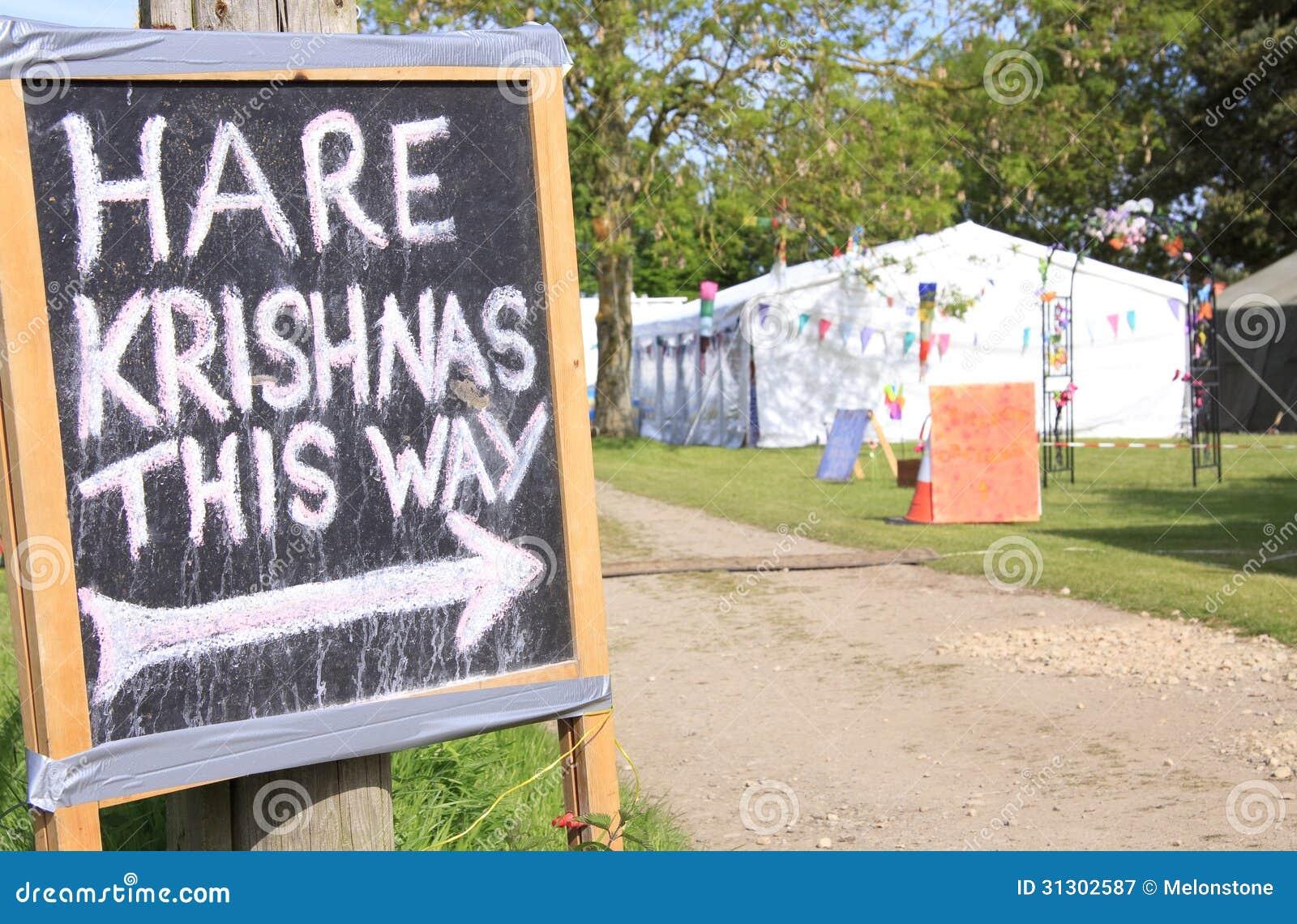 Σημάδι Krishna λαγών