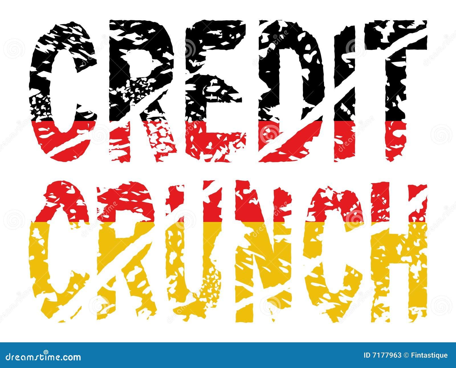 σημαία γερμανικά πιστωτικής κρίσιμης στιγμής