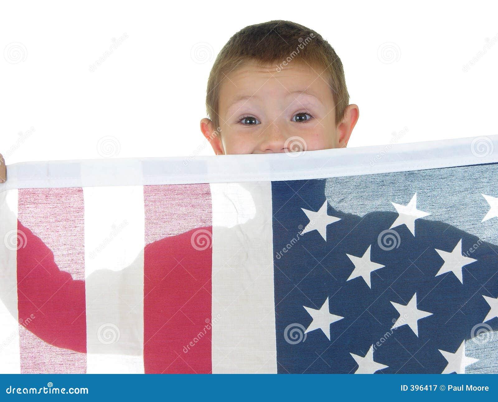 σημαία δύο αγοριών