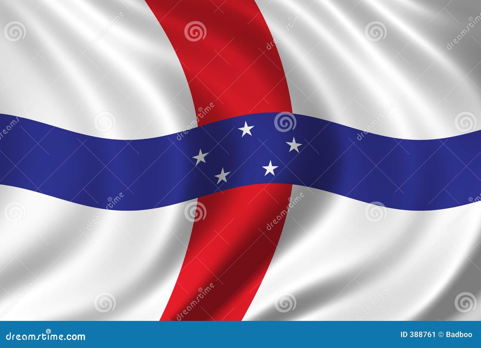 σημαία Κάτω Χώρες των Αντιλ&