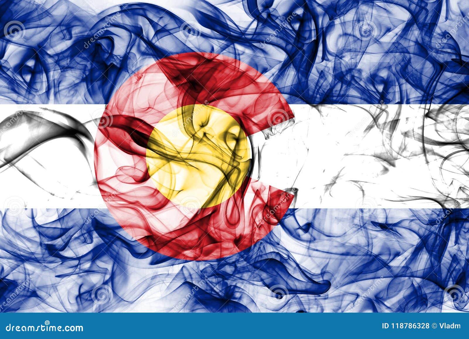 Σημαία κρατικού καπνού του Κολοράντο, Ηνωμένες Πολιτείες της Αμερικής