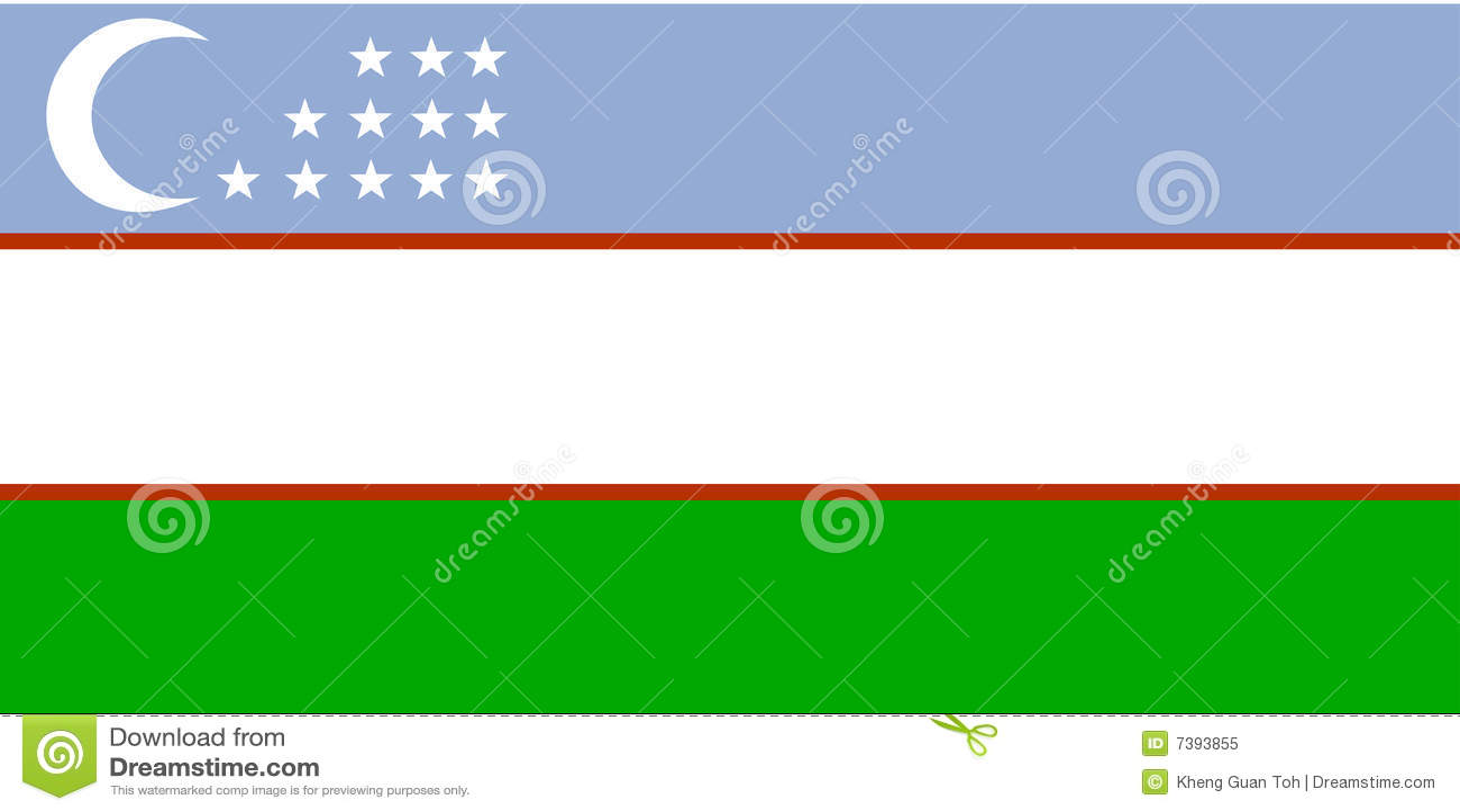 σημαία Ουζμπεκιστάν