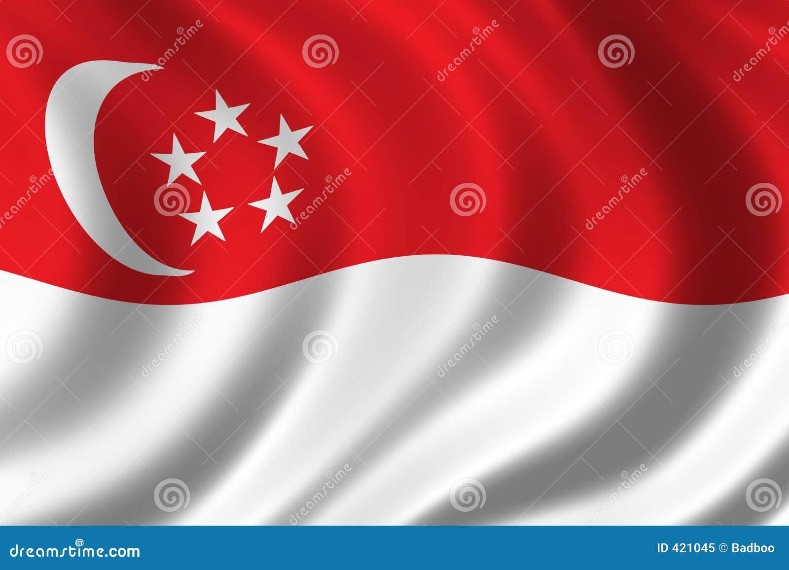 σημαία Σινγκαπούρη