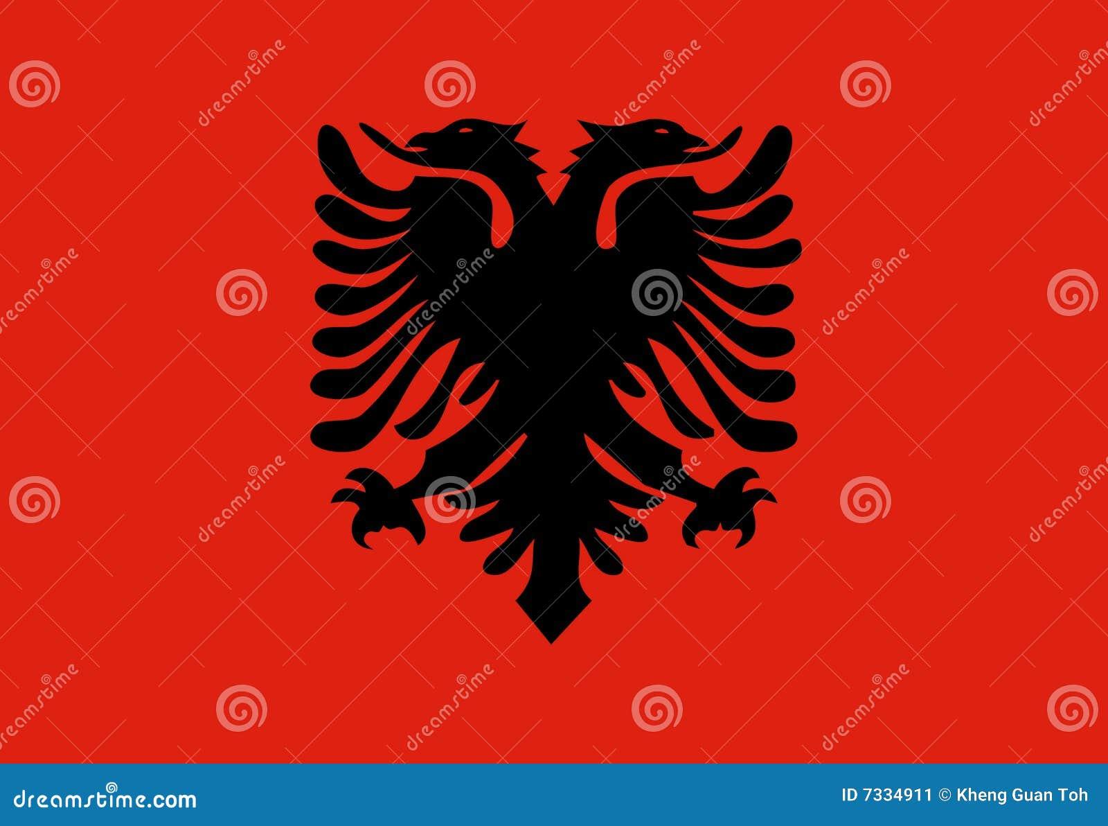σημαία της Αλβανίας