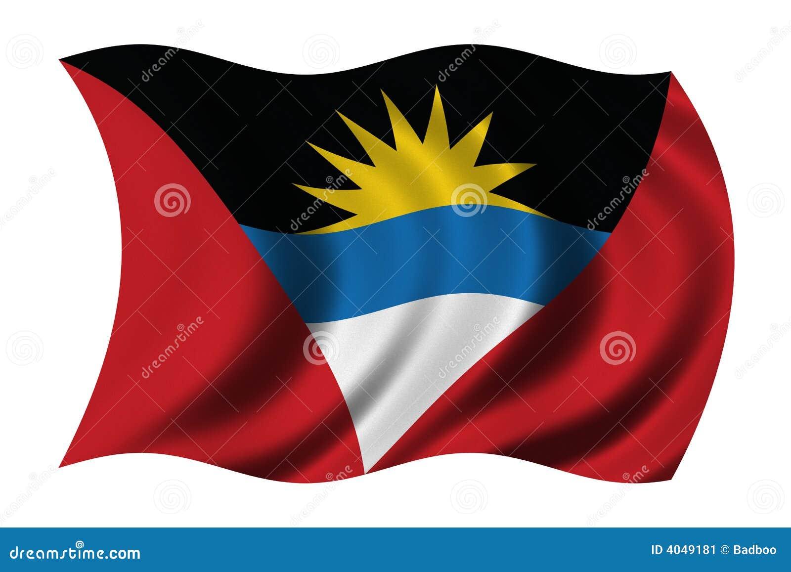 σημαία της Αντίγουα Μπαρμπ&