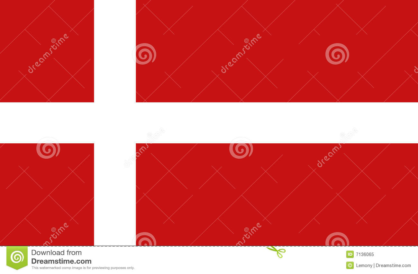σημαία της Δανίας