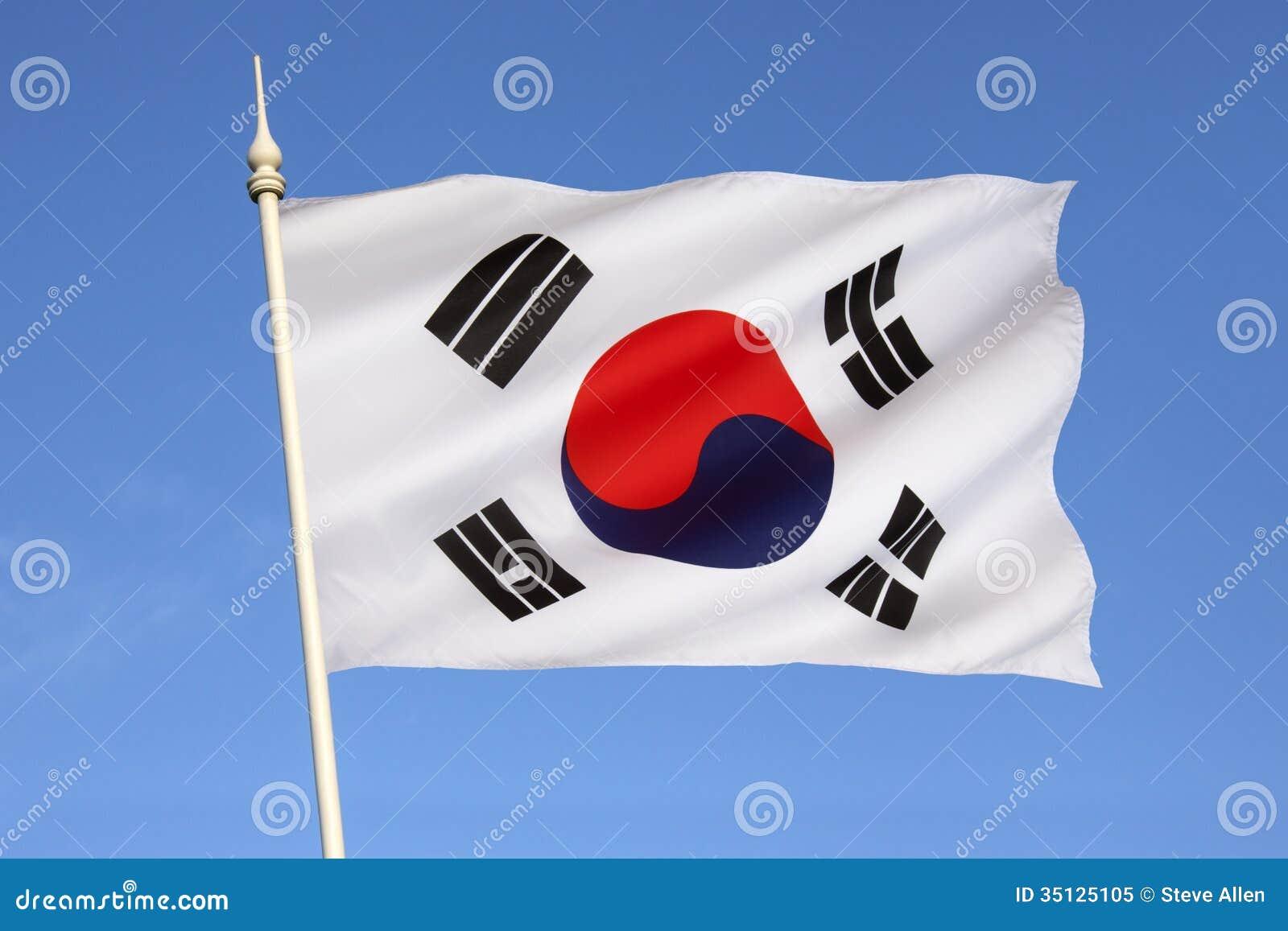 Σημαία της Νότιας Κορέας