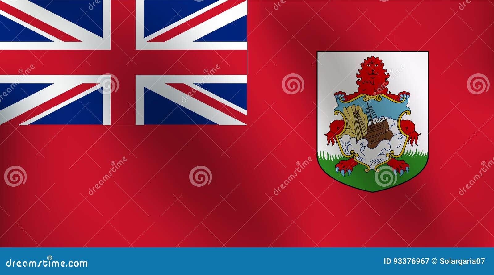 Σημαία των Βερμούδων - διανυσματική απεικόνιση