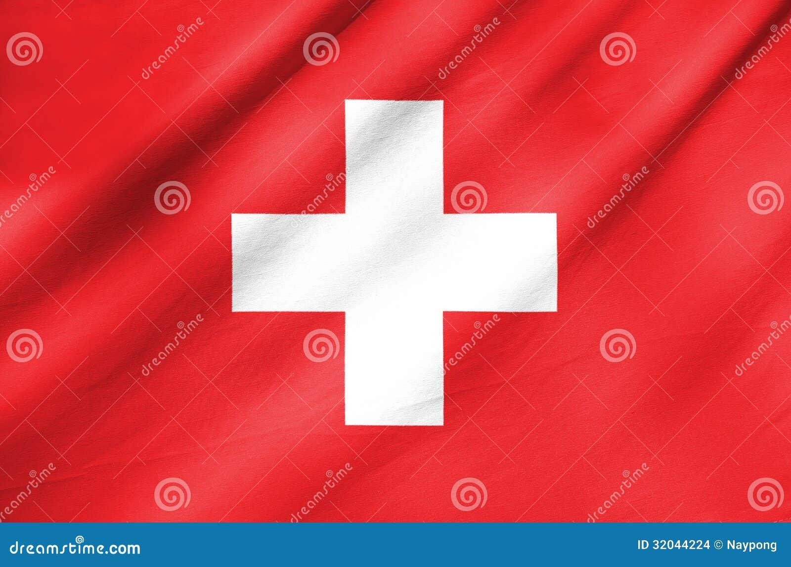 Σημαία υφάσματος της Ελβετίας