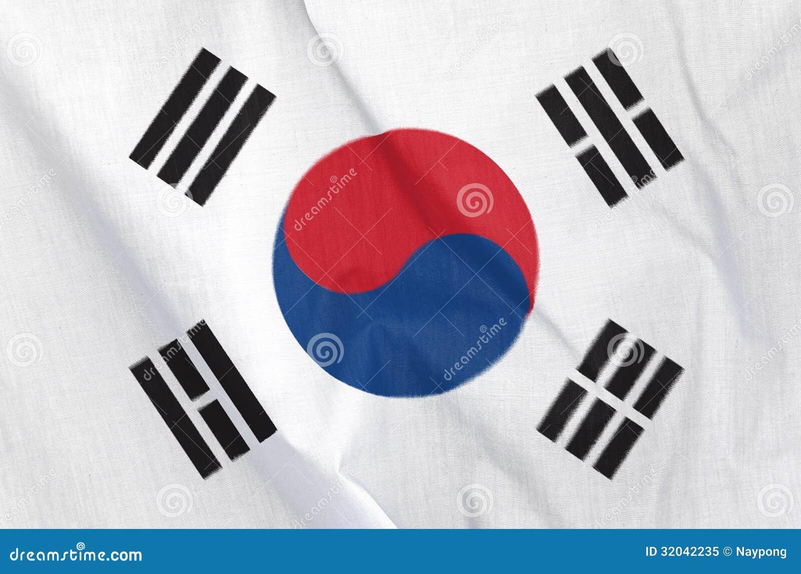 Σημαία υφάσματος της Νότιας Κορέας