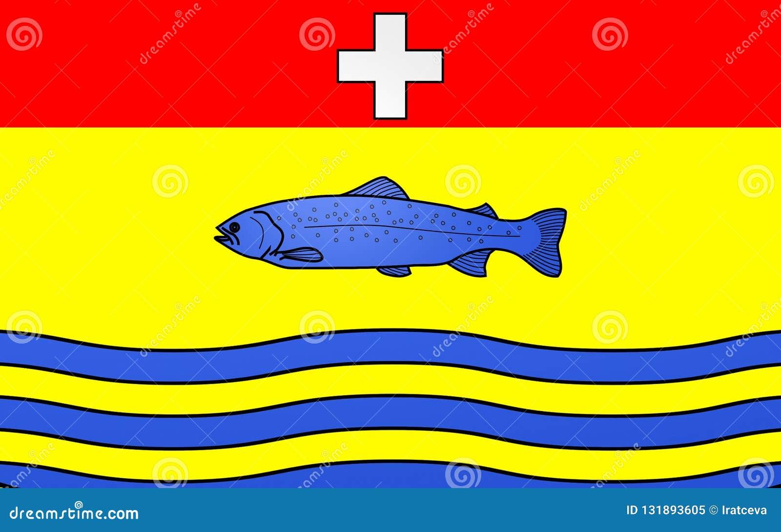 Σημαία Nantua, Γαλλία