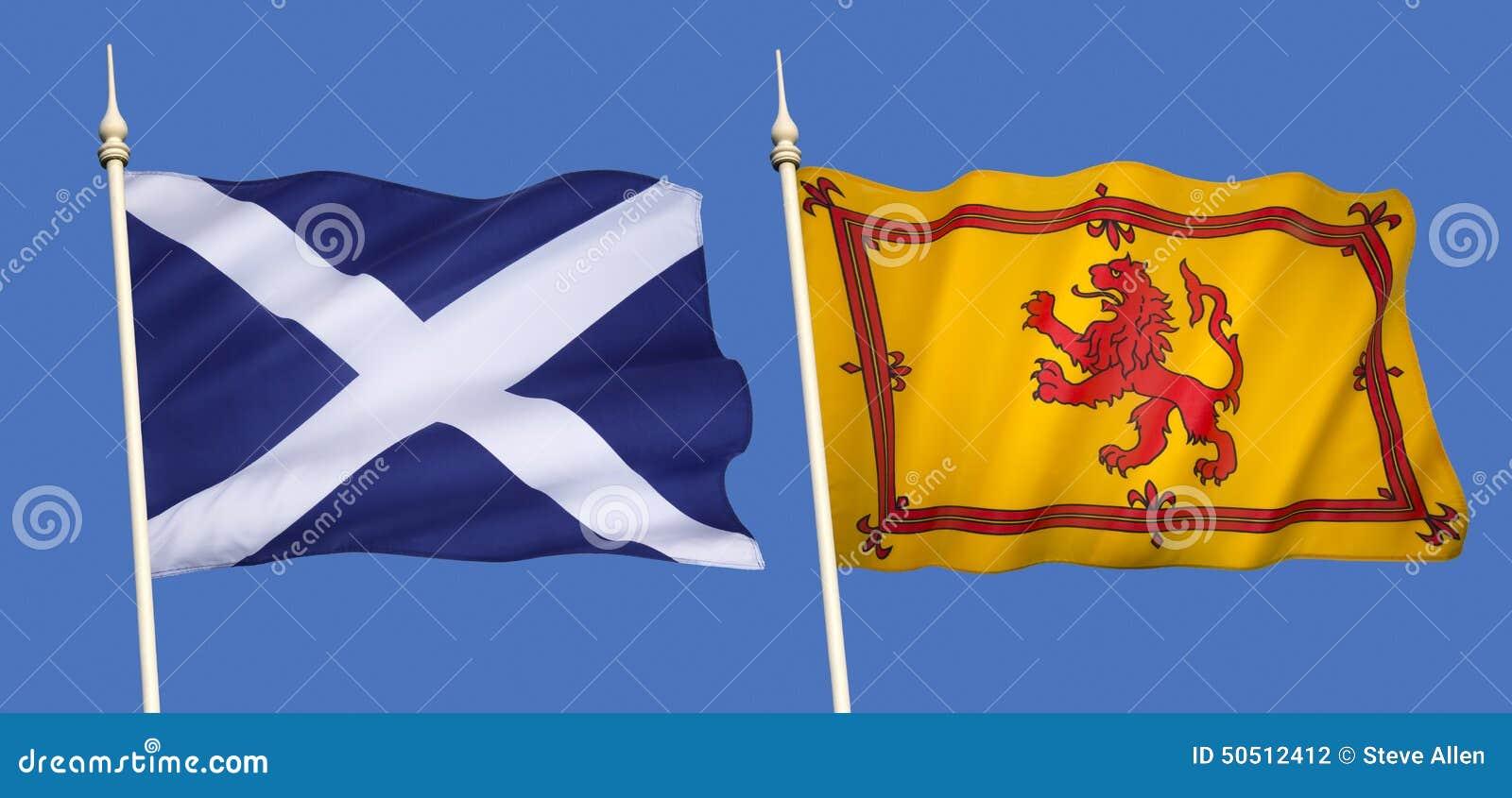 Σημαίες της Σκωτίας