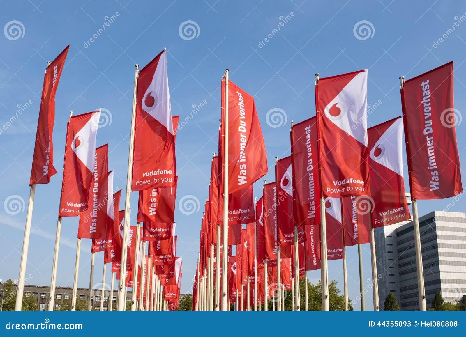 Σημαίες Vodafone σε IFA Βερολίνο
