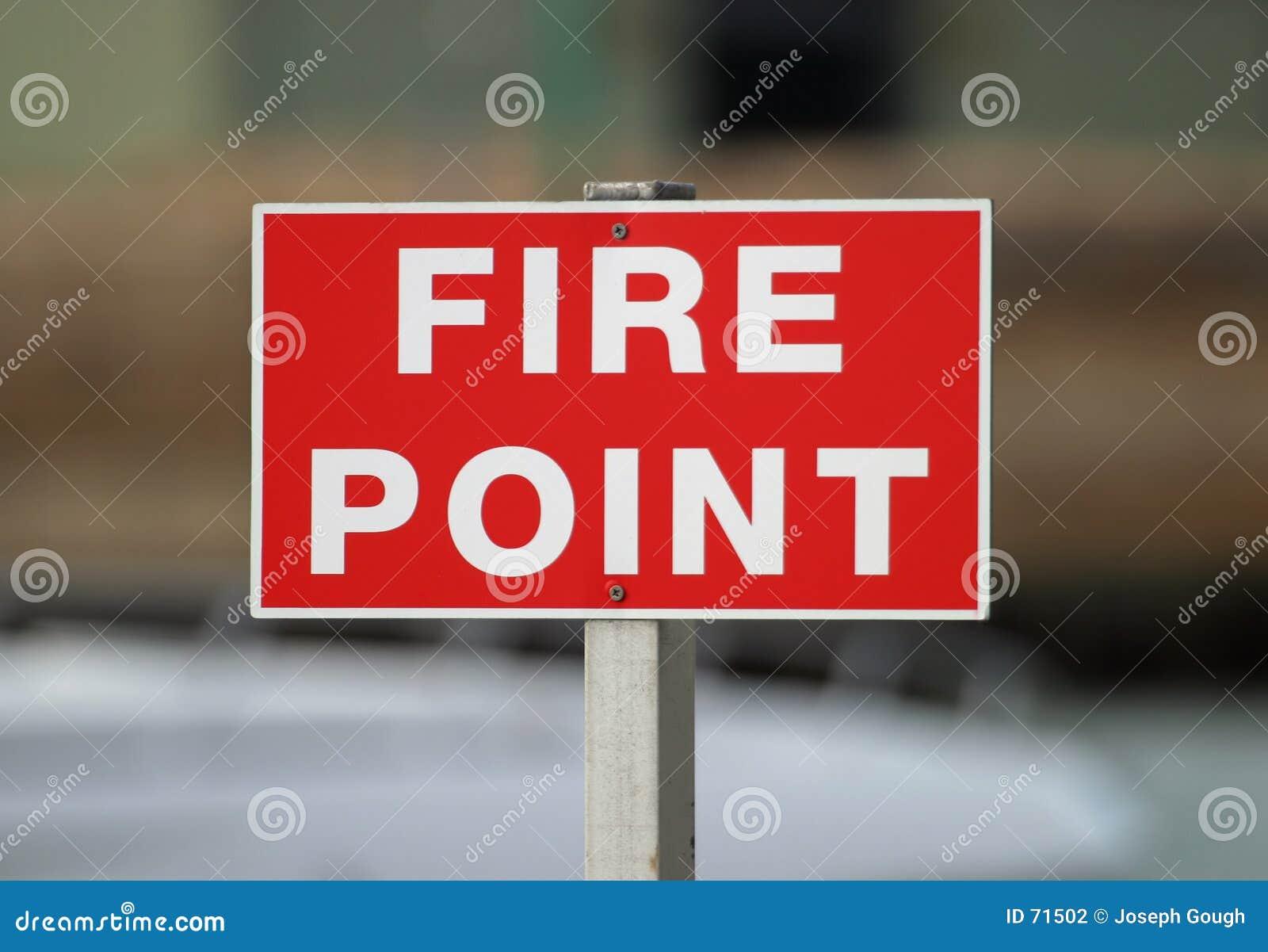 σημείο πυρκαγιάς