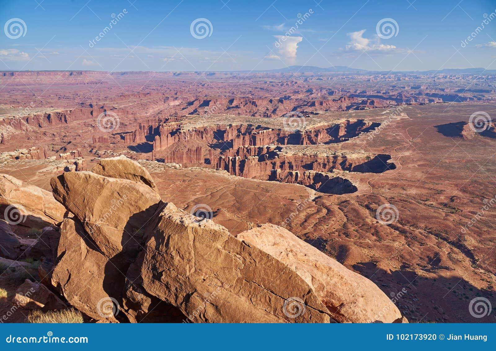 Σημείο Grandview στο εθνικό πάρκο Canyonlands
