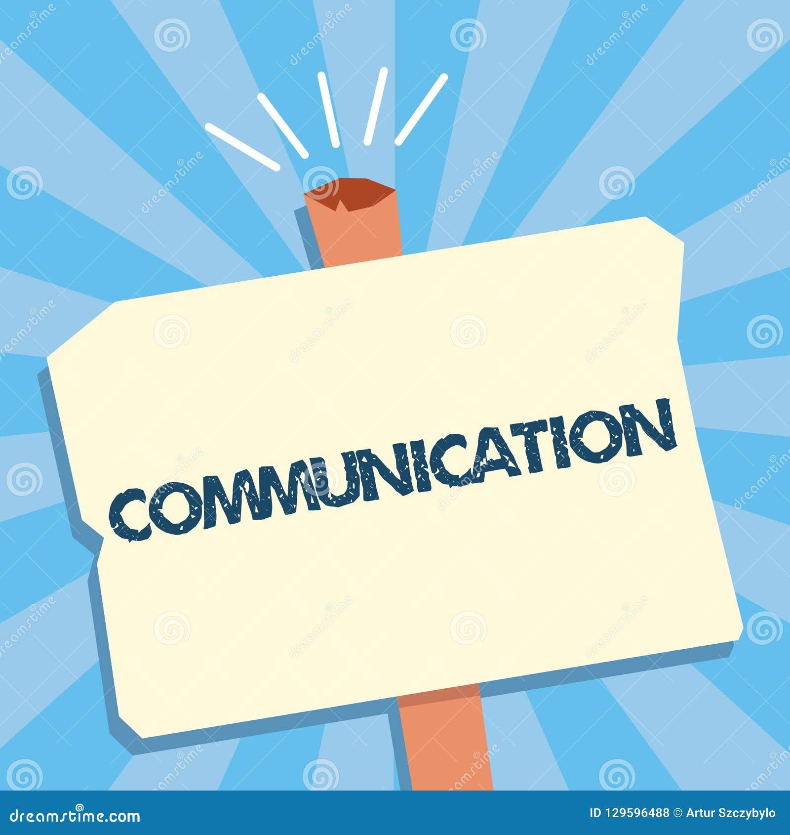 Σημείωση γραψίματος που παρουσιάζει επικοινωνία Μετάδοση επίδειξης επιχειρησιακών φωτογραφιών ή ανταλλαγή των πληροφοριών με την