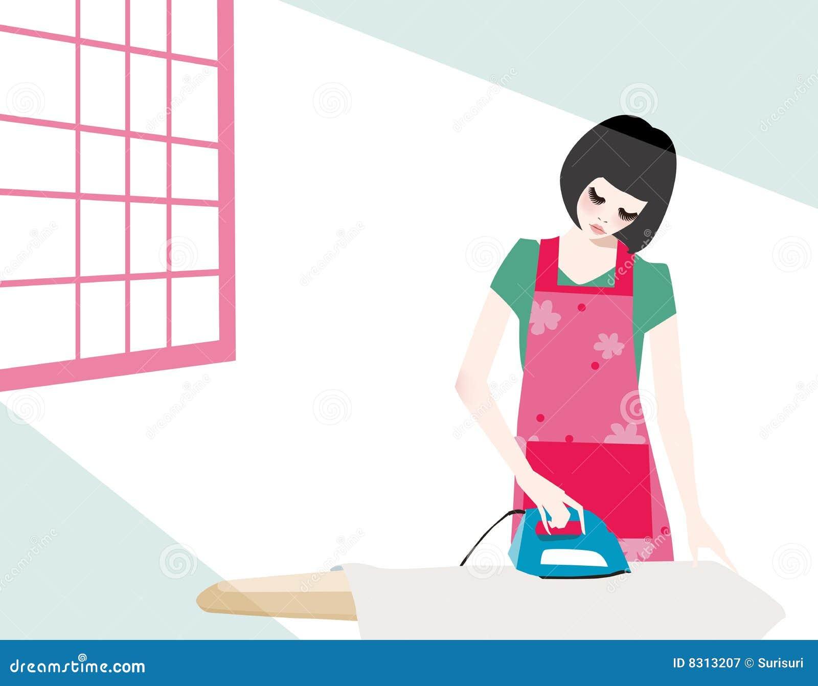 σιδέρωμα κοριτσιών