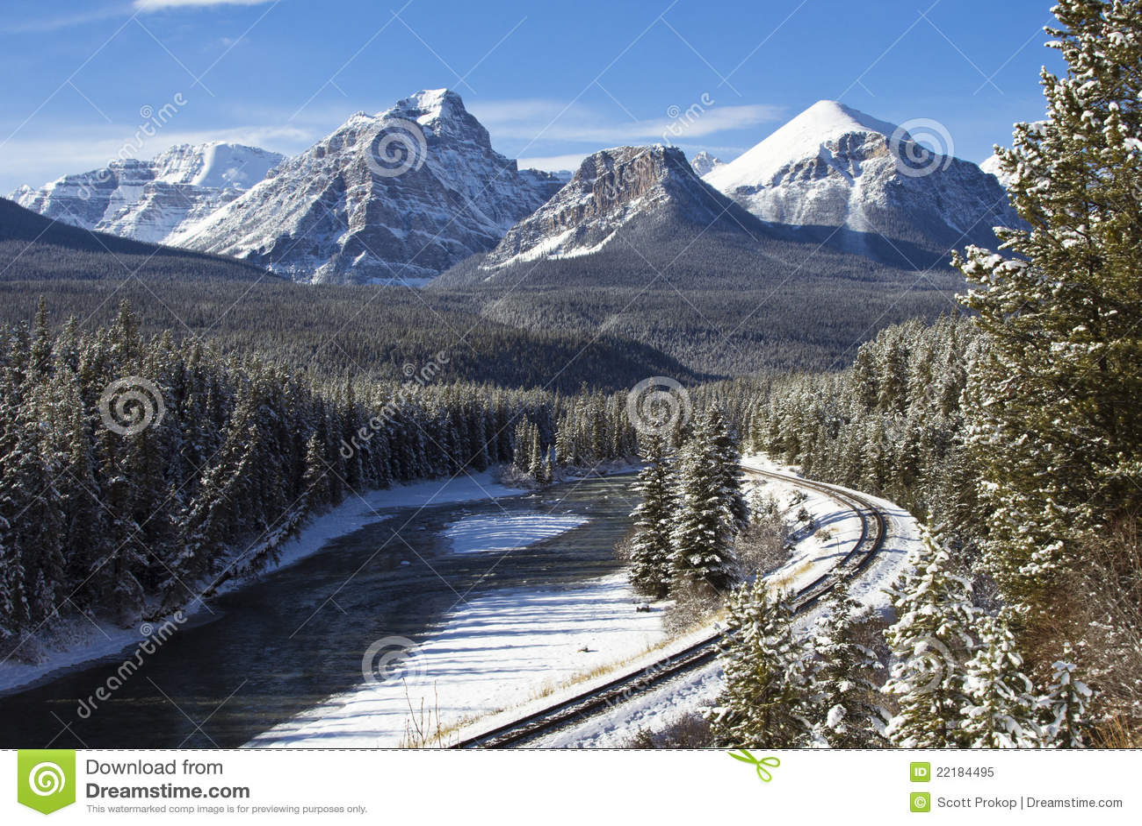 σιδηρόδρομος rockies