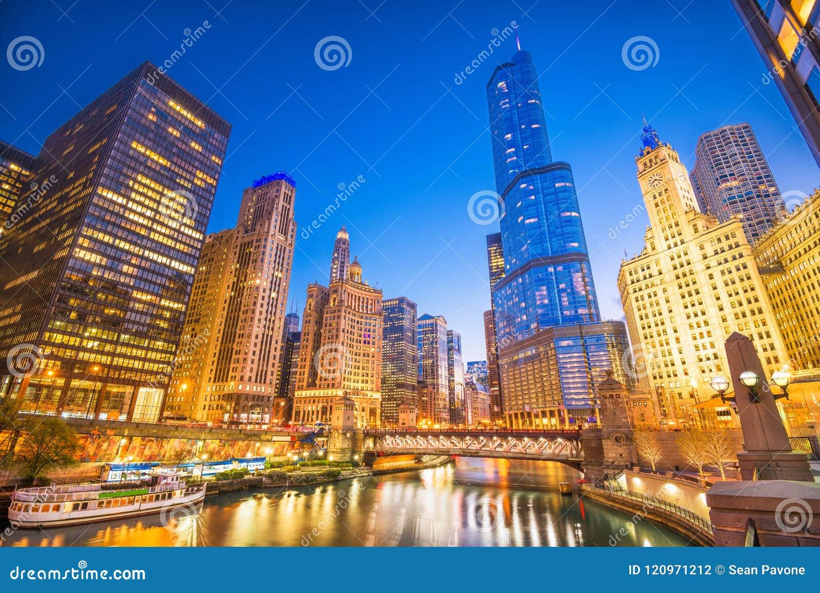 Σικάγο, Ιλλινόις, ΑΜΕΡΙΚΑΝΙΚΗ εικονική παράσταση πόλης