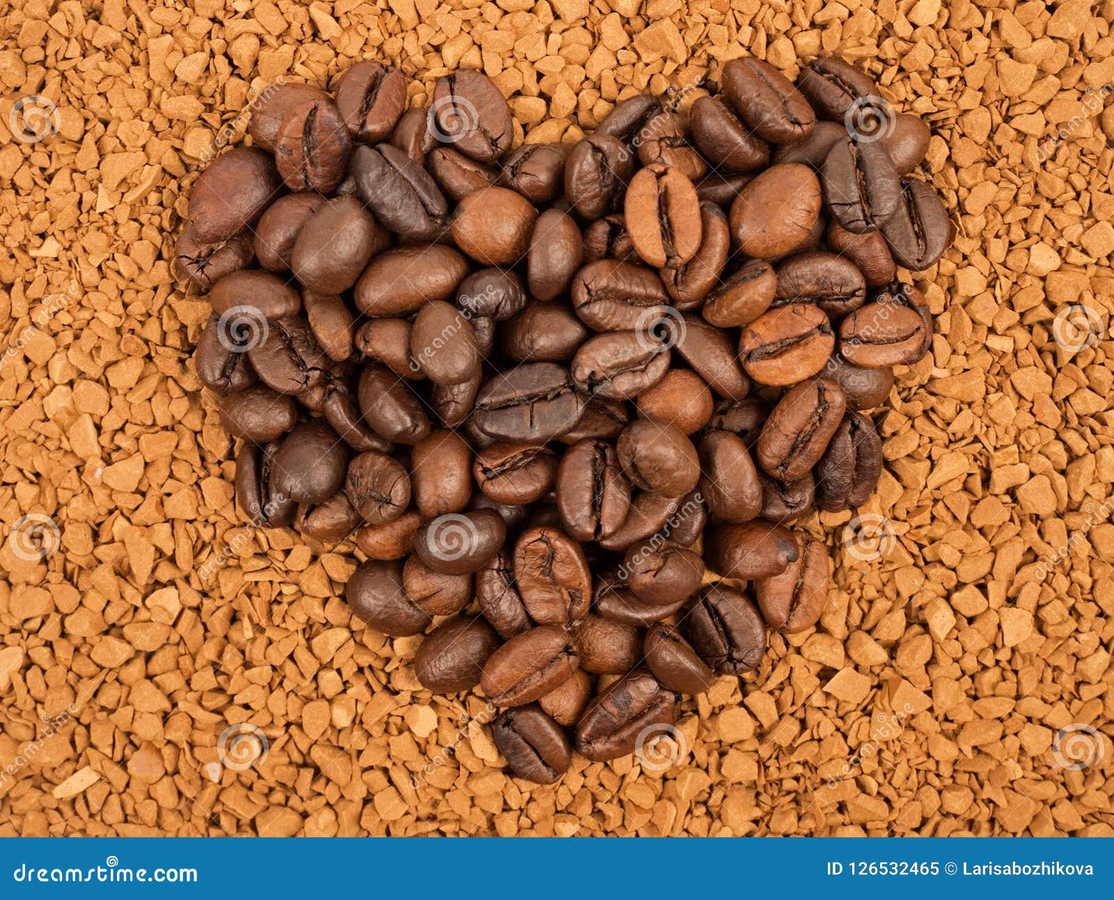 Σιτάρια καφέ, στιγμιαίος καφές