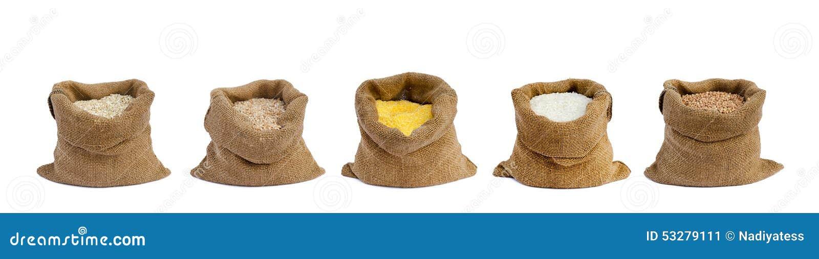 Σιτάρι στους σάκους