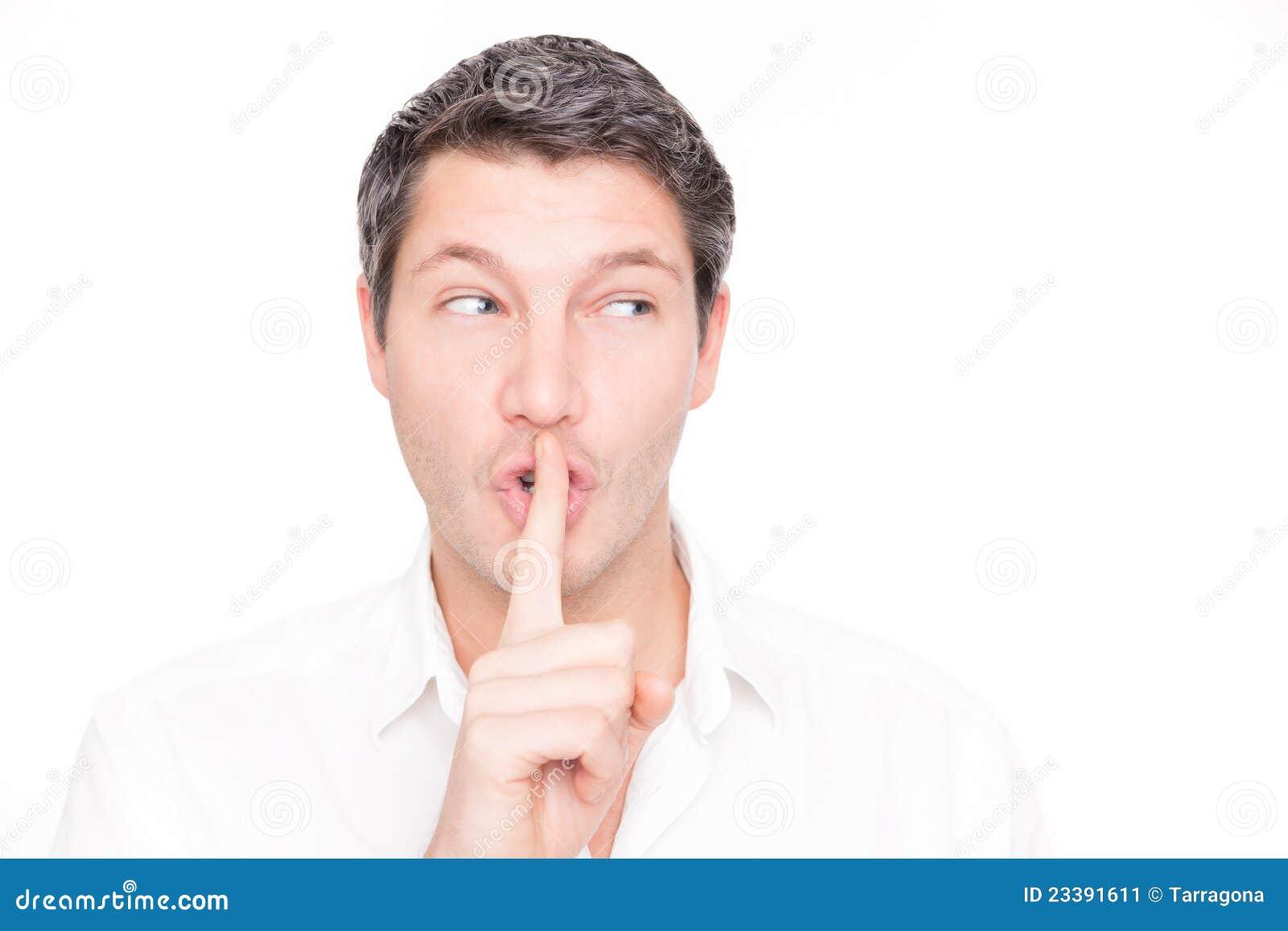 σιωπηλός ψίθυρος ατόμων