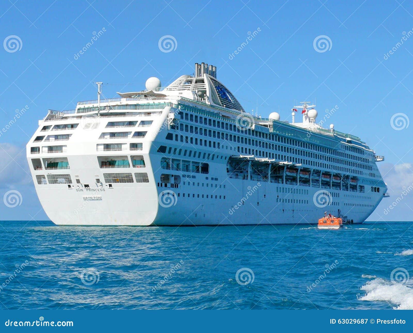 Σκάφος γραμμών κρουαζιέρας πριγκηπισσών