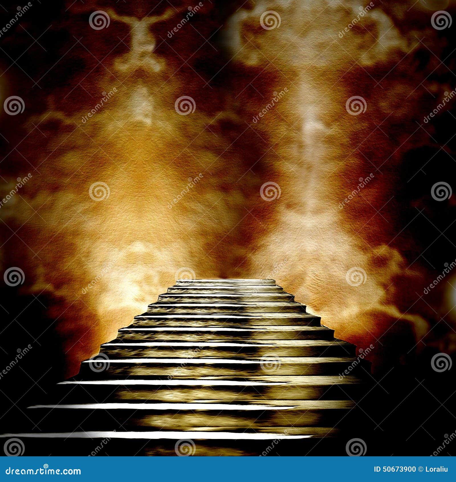 Σκάλα που οδηγεί στον ουρανό ή την κόλαση