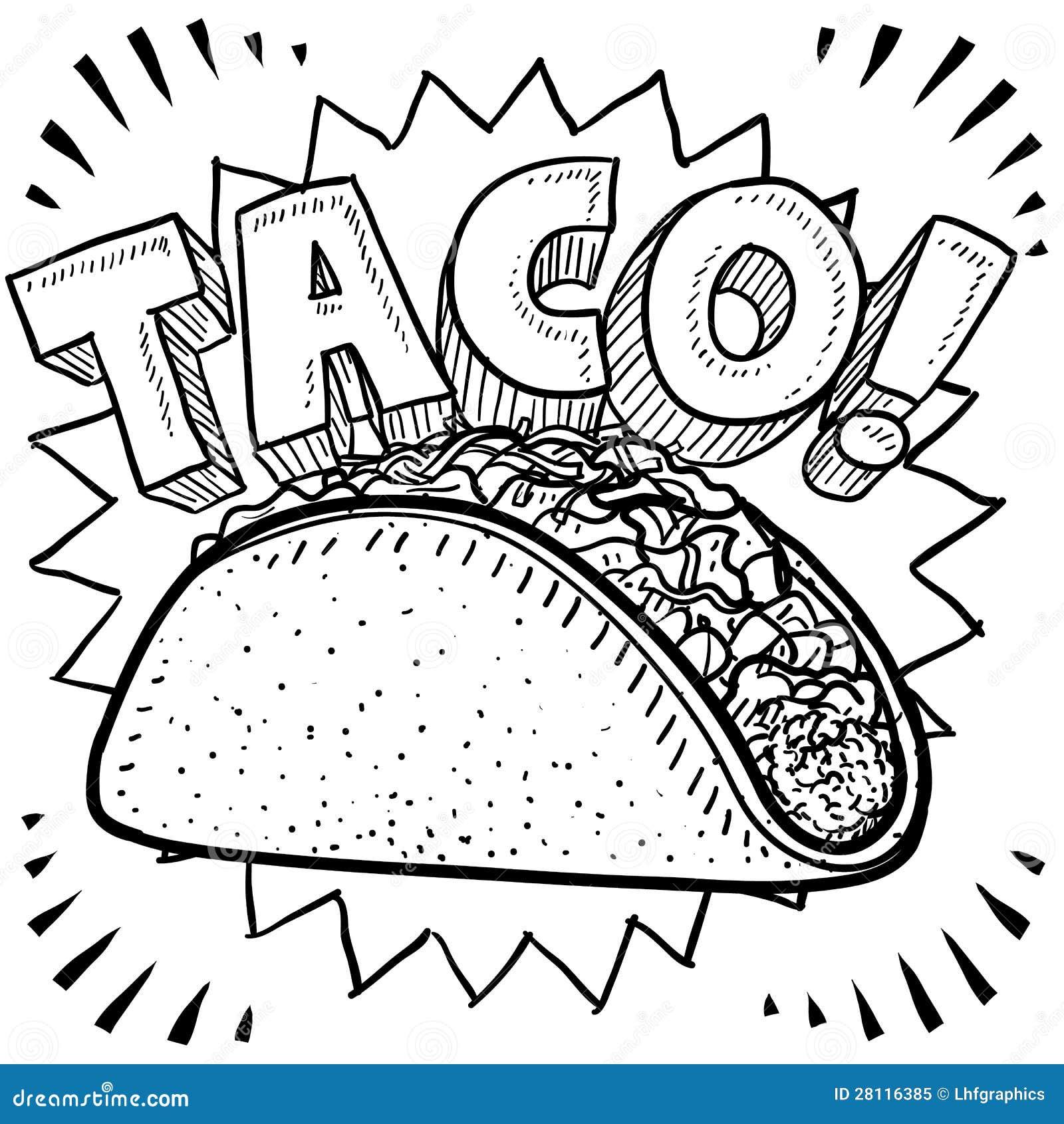 Σκίτσο Taco