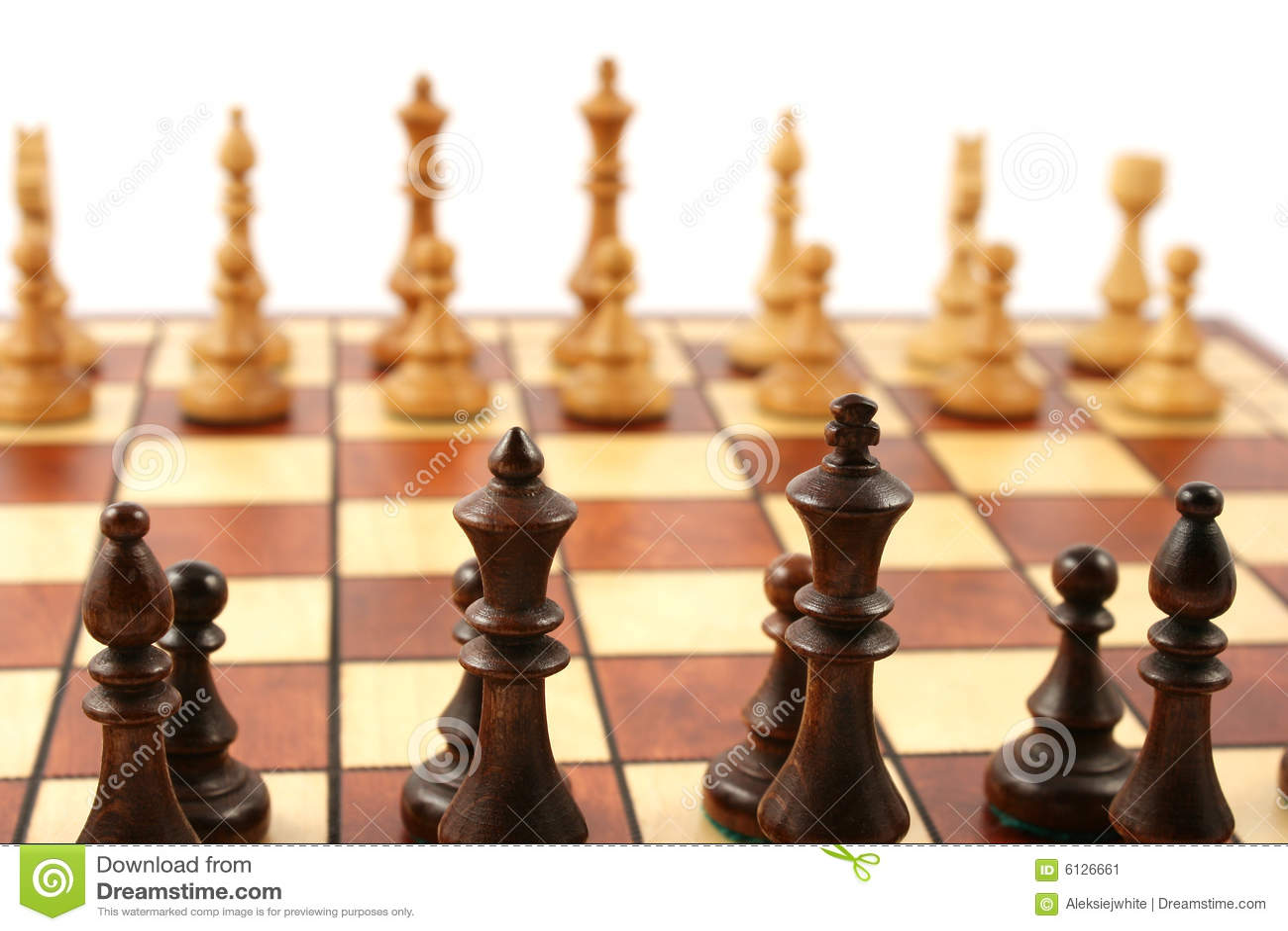 σκακιέρα σκακιού ξύλινη