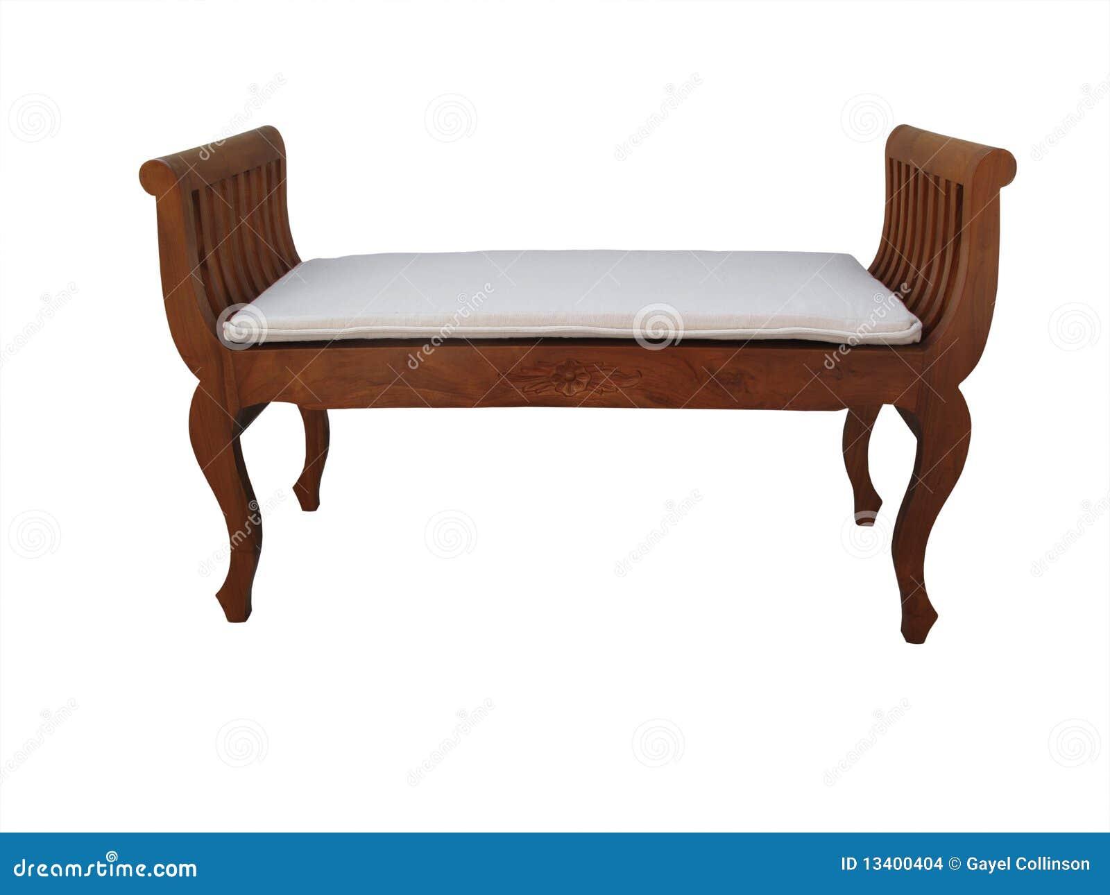 σκαμνί μαξιλαριών ξύλινο
