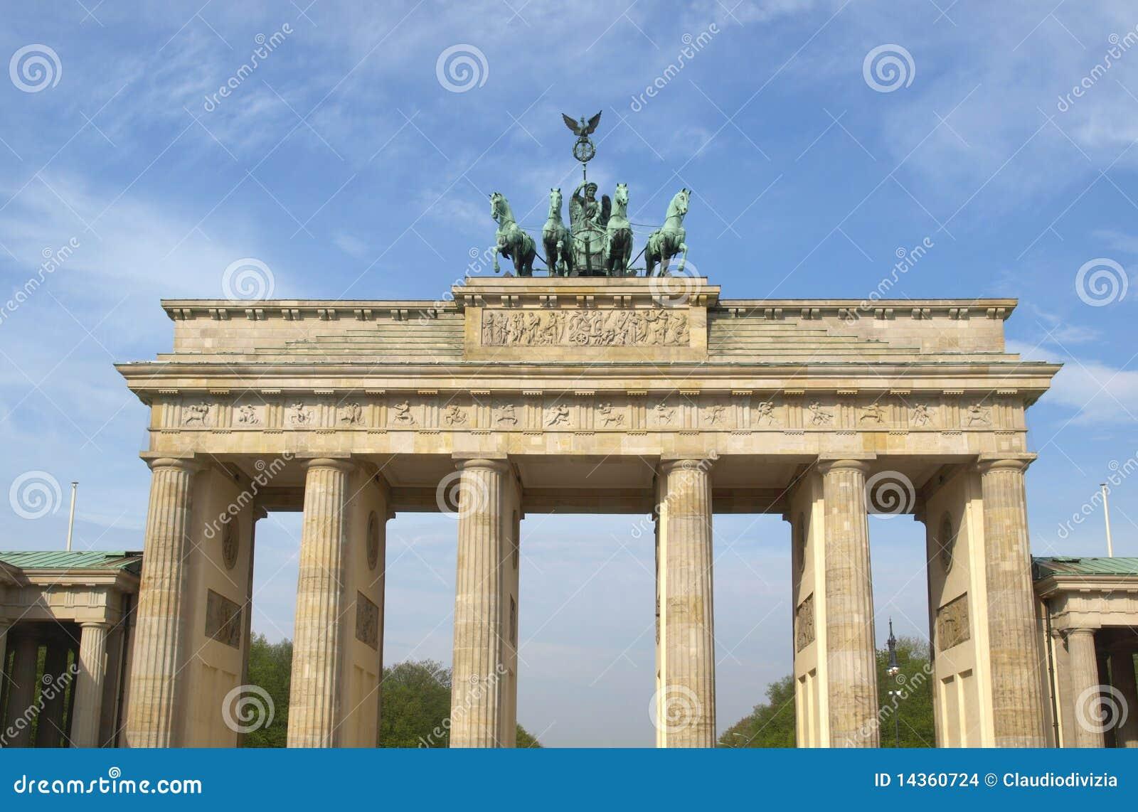 σκαπάνη του Βερολίνου brandenbu