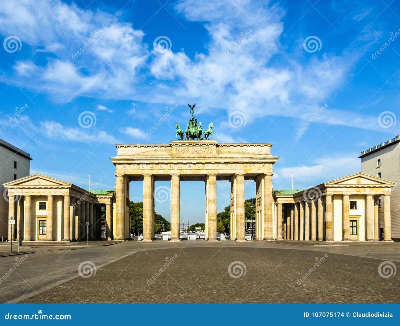 σκαπάνη του Βερολίνου brandenburger