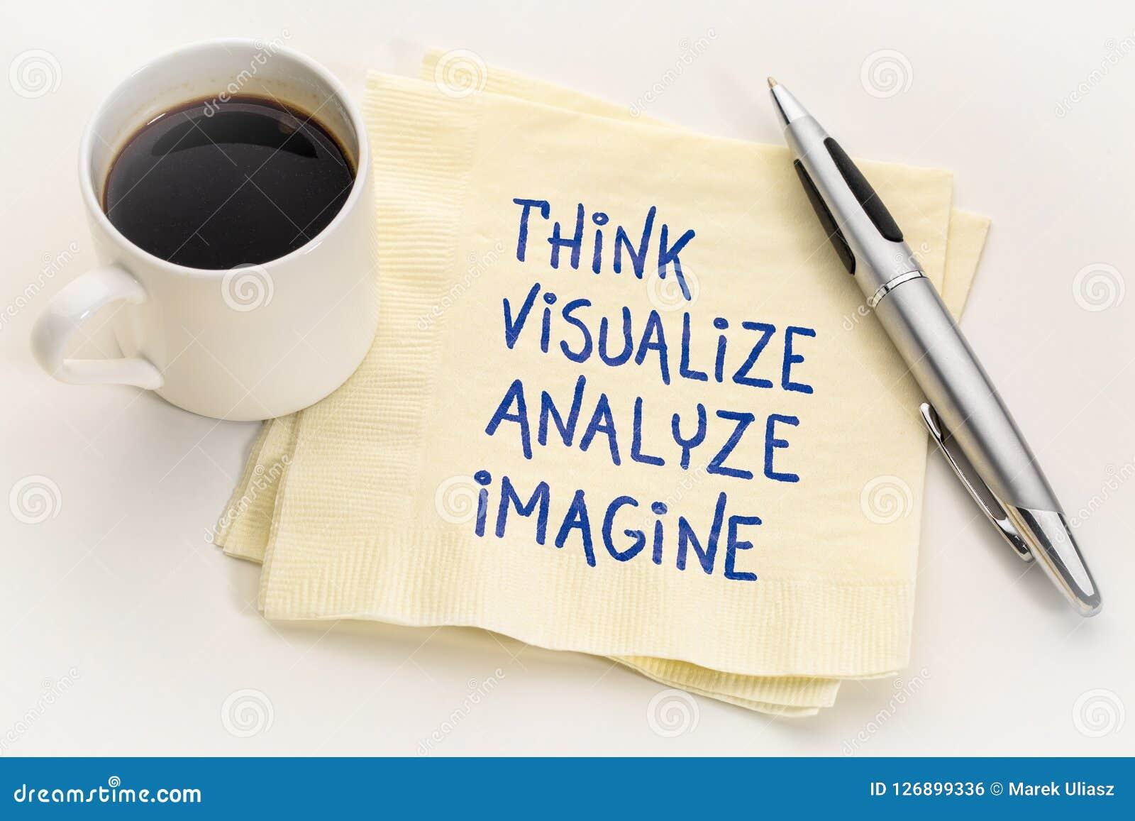 Σκεφτείτε, απεικονίστε, αναλύστε και φανταστείτε