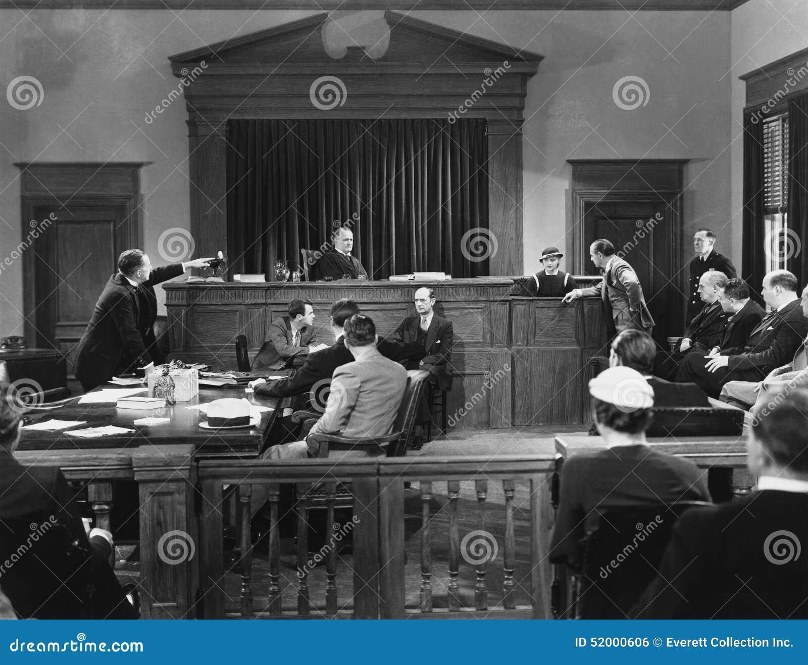Σκηνή δικαστηρίων (όλα τα πρόσωπα που απεικονίζονται δεν ζουν περισσότερο και κανένα κτήμα δεν υπάρχει Εξουσιοδοτήσεις προμηθευτώ