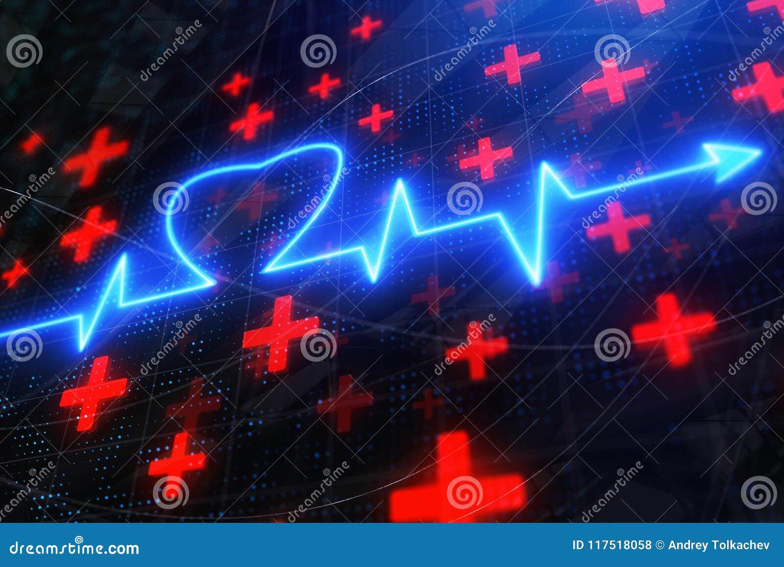 Σκηνικό κτύπου της καρδιάς πυράκτωσης