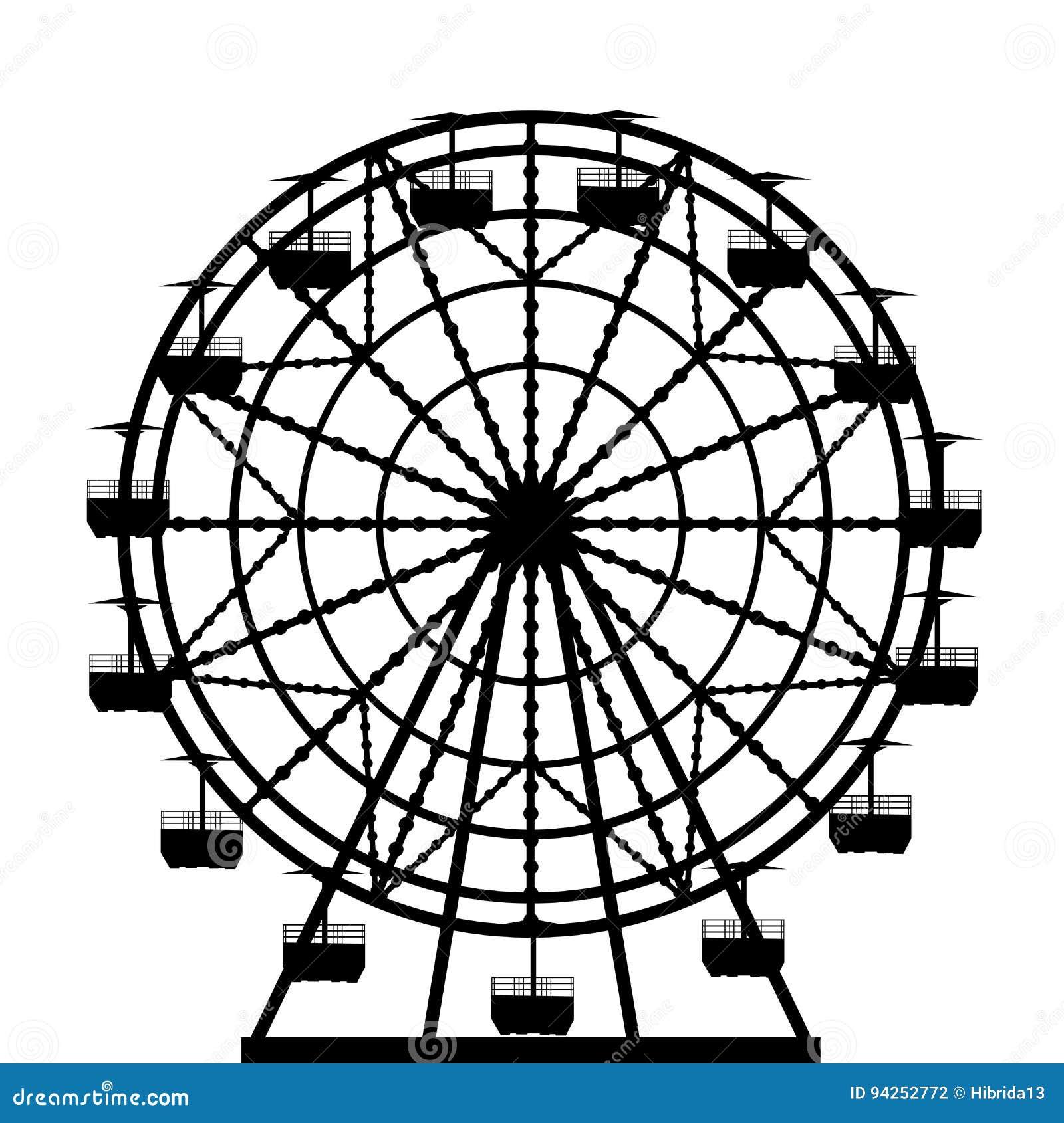 Σκιαγραφία ροδών Ferris