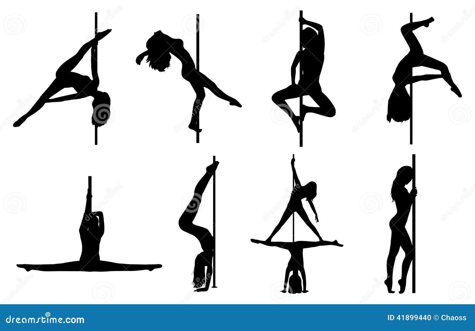 Σκιαγραφίες γυναικών χορού Πολωνού