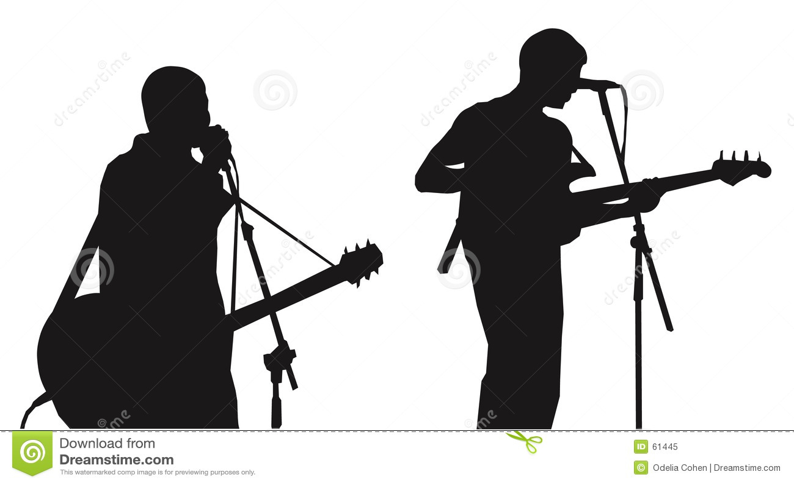 σκιαγραφίες μουσικών