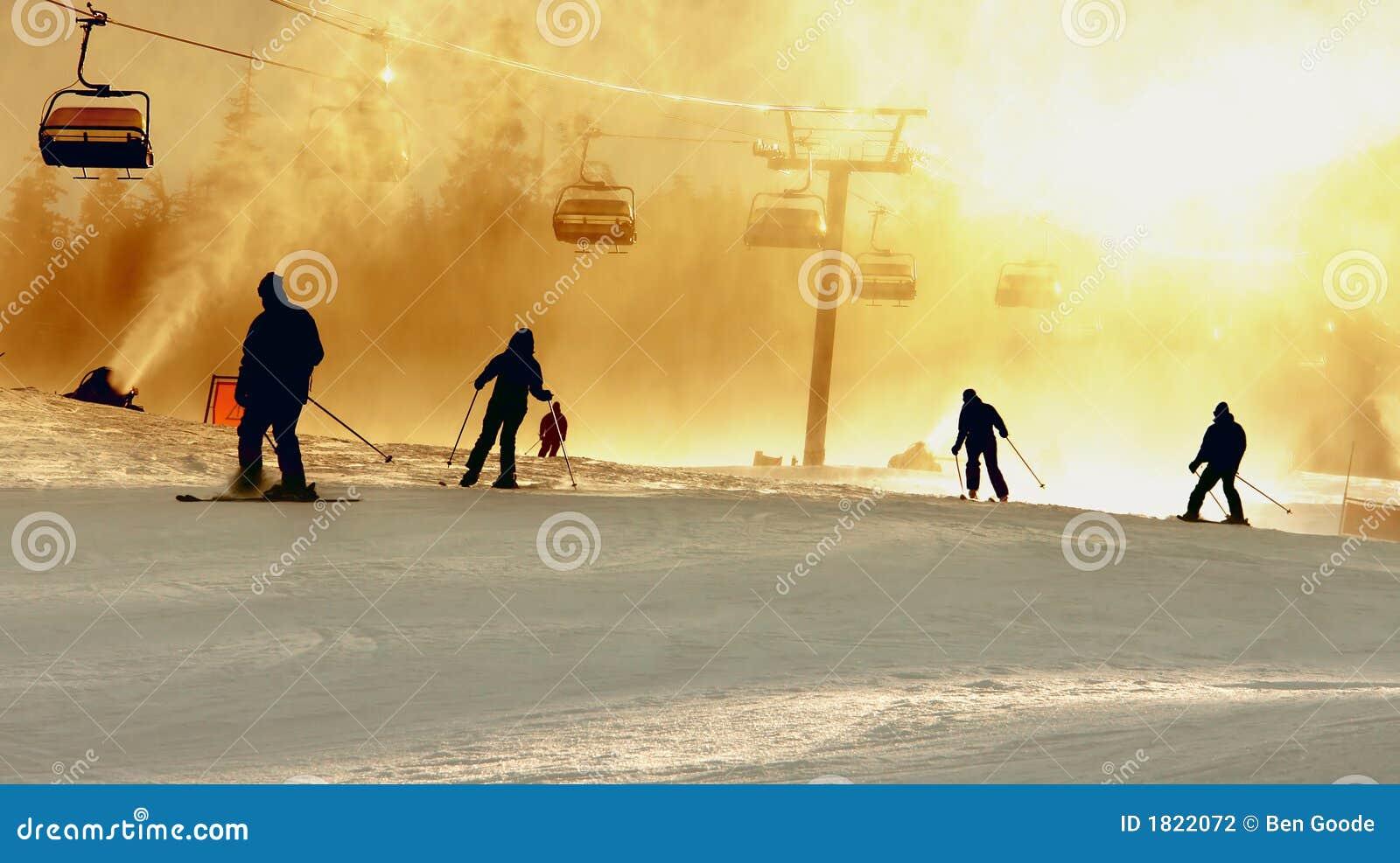 σκι σκιαγραφιών