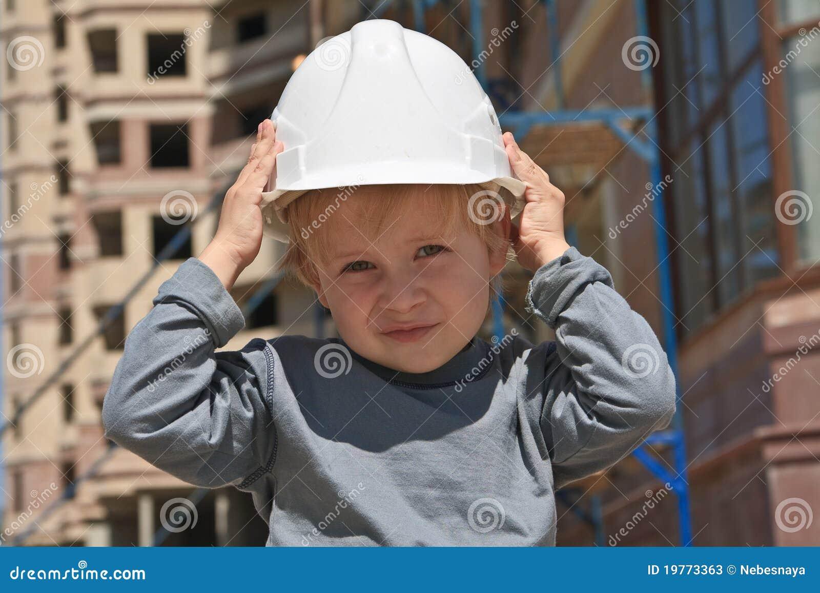 σκληρό καπέλο παιδιών
