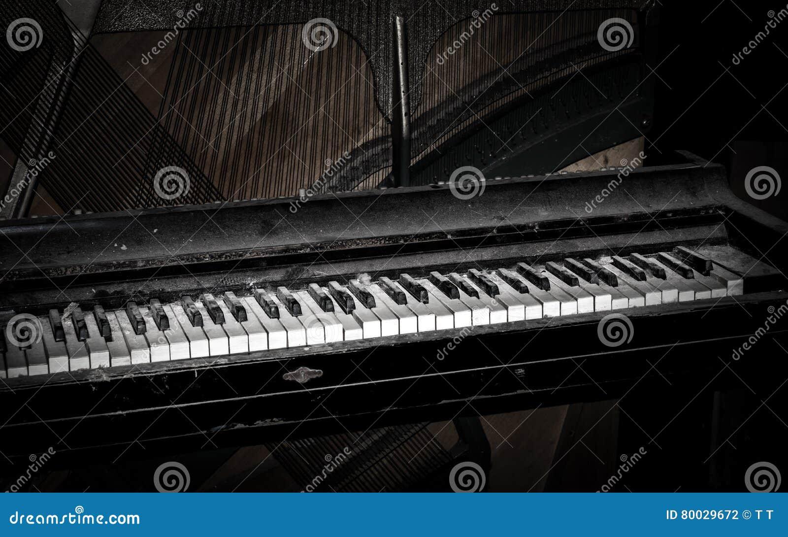 Σκονισμένο πιάνο
