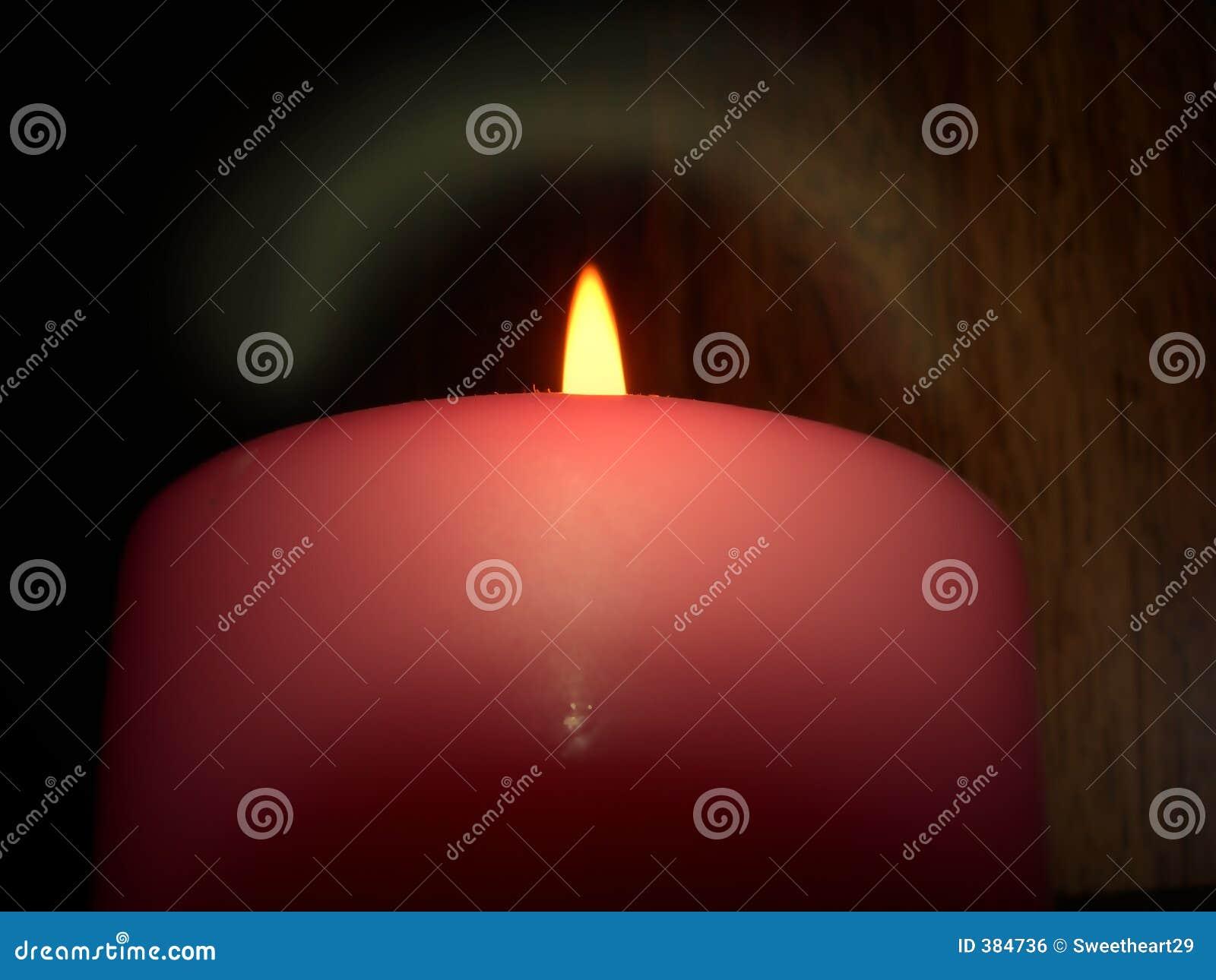 σκοτάδι κεριών