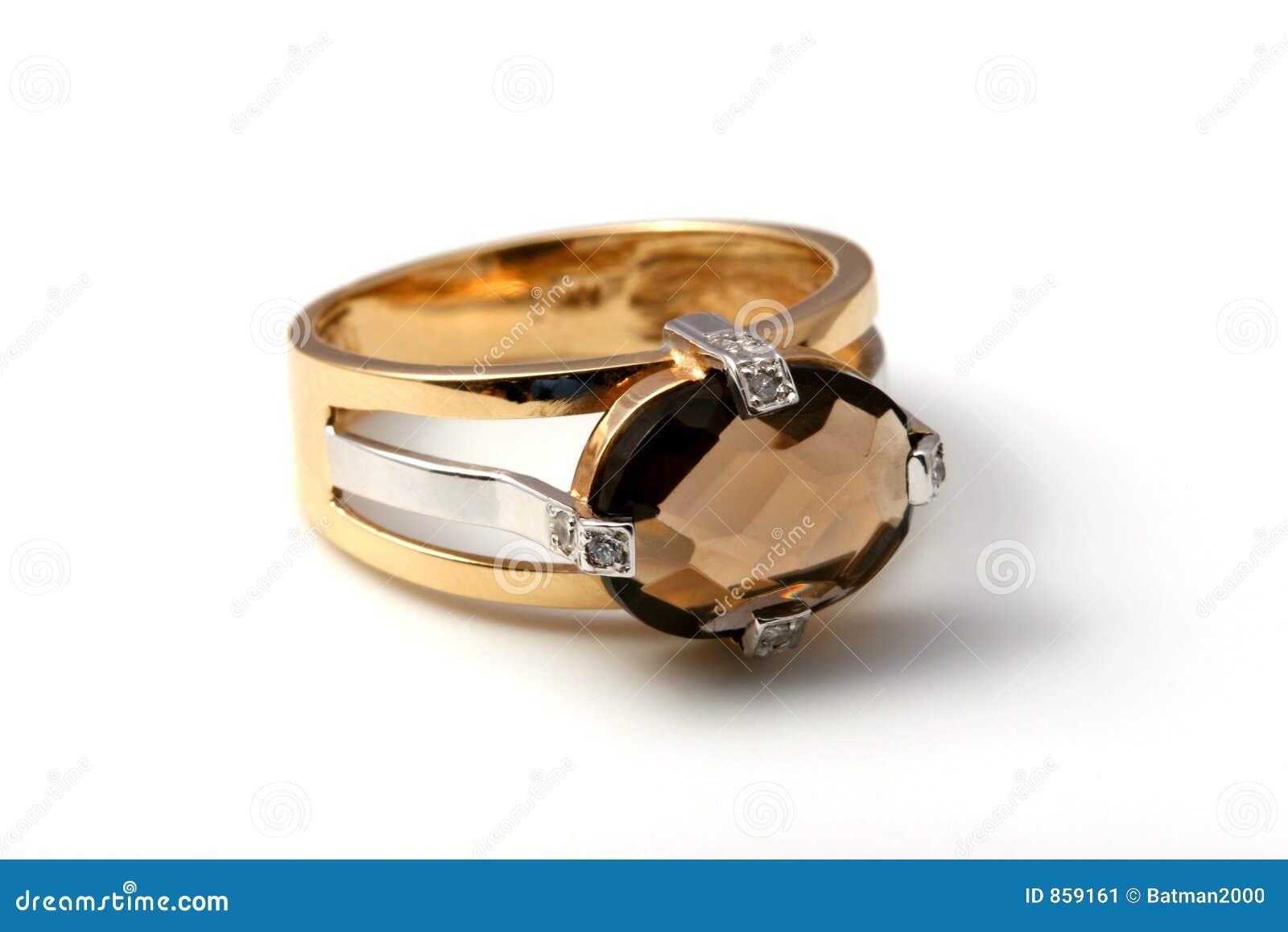 σκοτεινό δαχτυλίδι topaz