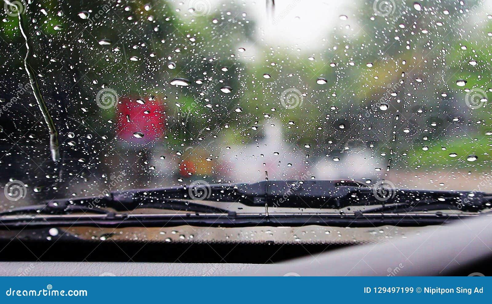 Σκουπίστε τη βροχή στον ανεμοφράκτη