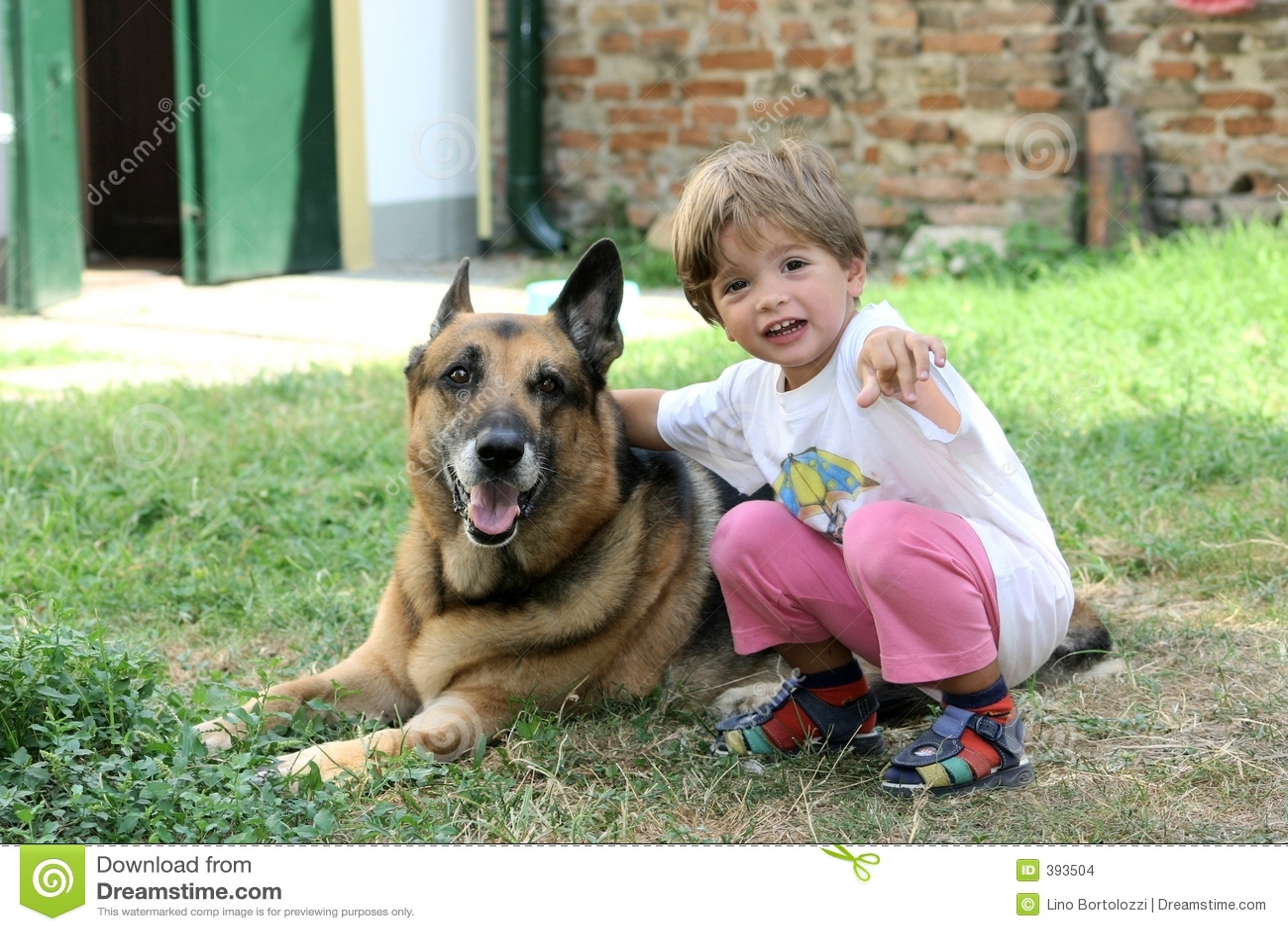 σκυλί παιδιών